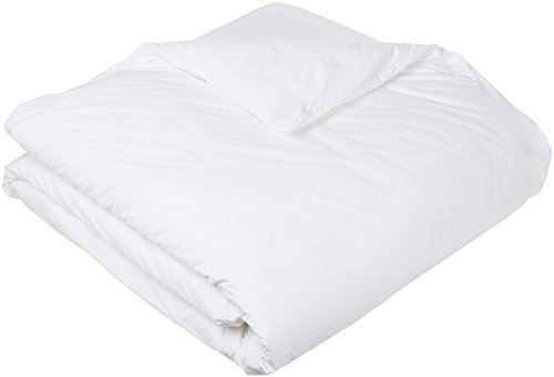 Pinzon - Bettdeckenschutzbezug, hypoallergen, Baumwolle, 135 x 200 cm, Weiß