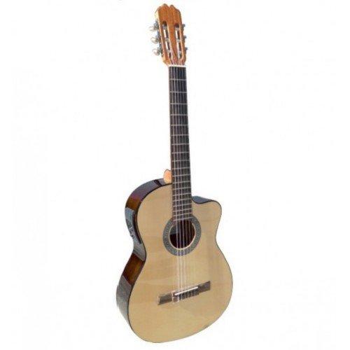 Admira (Sara) Iniciacion 4/4 Electrificada Cutaway guitarra clásica española