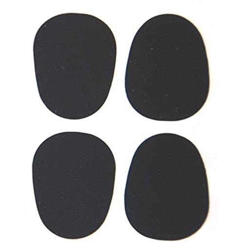 8 Compensadores para Boquillas - Soundman Mouthpiece Cushions/Patches (Negro - Flaco (0,40 mm))