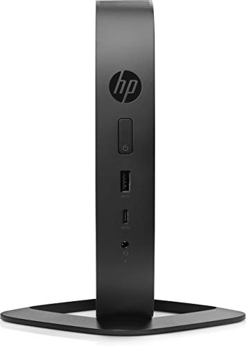 HP 2DH81AT#ABA T530, Thin Client, Tower, 4 GB Ram, 32 GB Flash, AMD Radeon R2, Black (Certified Refurbished)