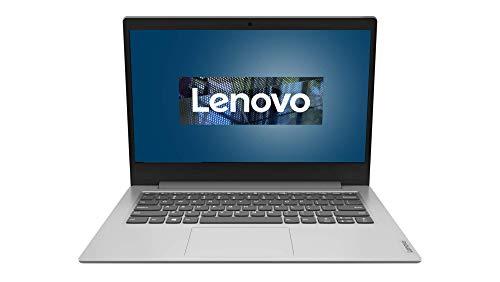 Lenovo IdeaPad Slim 1 Laptop 35,6 cm (14 Zoll, 1920x1080, Full HD, entspiegelt) Slim Notebook (AMD Athlon Silver 3050E, 4GB RAM, 64GB eMMC, AMD Radeon Grafik, Win10 Home, 1 Jahr Microsoft 365) silber