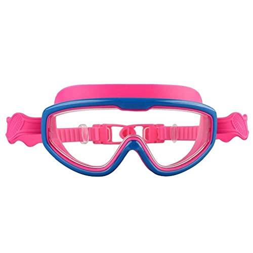 Aiyrchin Gafas De Baño, Gafas De Natación para Niños Grandes Y Adolescentes Tempranos, Visión Ancha, Anti- Niebla, Protección UV Roja
