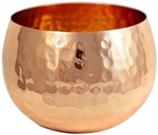 Small Hammered Copper Bowl
