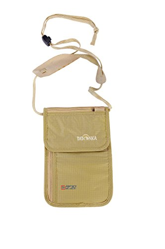 Skin Neck Pouch RFID Natural
