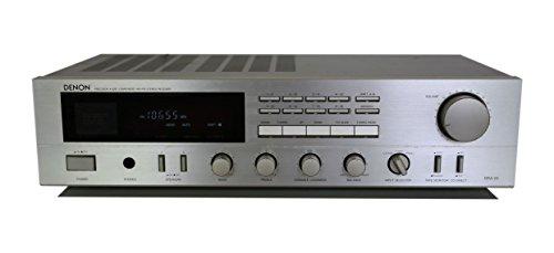 Denon DRA-25 Stereo Receiver in silber
