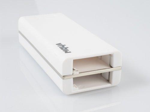 mobiele dual-lader/powerbank voor GoPro AHDBT-401-accu's met 4400 mAh