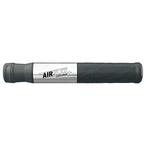 SKS GERMANY Airflex Explorer, Mini Pompa. Unisex-Adulti, Argento, Länge: 205 mm