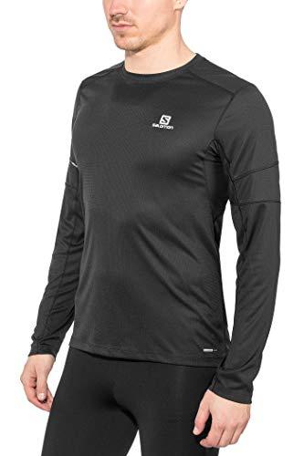 SALOMON Agile T-Shirt Respirant Manches Longues Homme Trail Running Randonnée