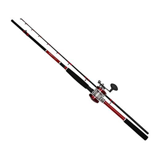 タコGUN GUNセット2 180cm リール付 (糸付) タコ釣り タコロッド 蛸 釣竿 たこ専用ロッド タコジグ用タコテンヤ用