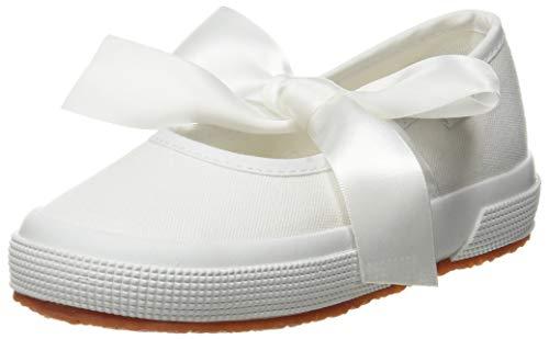 Superga Jungen Mädchen 2257-cotj Slingback Ballerinas, Weiß (White 900), 27 EU