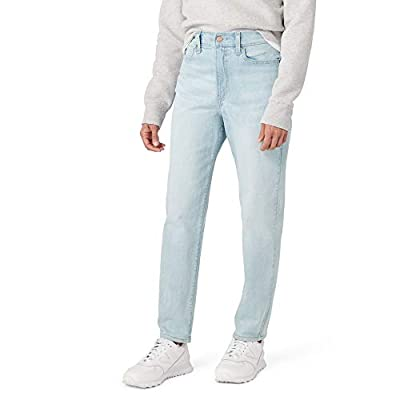 Signature by Levi Strauss & Co. Gold Label Juniors Mom Jeans, malibu, 0