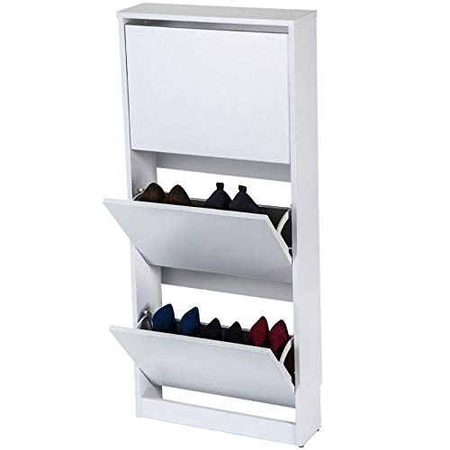 TOP KIT | Mueble Zapatero Congo 50AB - 54 x 123 x 16.5 | Blanco