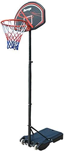 ZPTECH-lanban Verstelbare Paal Jeugd Netbal Basketbal Hoop En Outdoor Beugel Kind Volwassen Draagbaar Rebound Systeem
