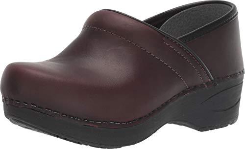 Dansko Women's XP 2.0 Brown Waterproof Pull-up Leather Clogs 10.5-11 M US