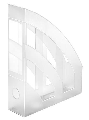 Idena 300882 - Stehsammler für DIN A4, aus Kunststoff, transparent matt, 1 Stück