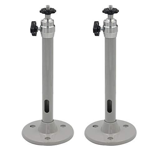 2 piezas Soporte de aluminio universal para proyector, Soporte...