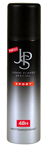 John Player Special JPS SPORT 48h Antitranspirant Deospray, 1er Pack (1 x 150 ml)