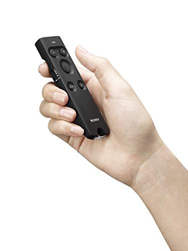 Sony HVL-F60RM Hochgeschwindigkeitsblitz (mit Funkempfänger/-bedienung, integrierter Wireless Sender und Receiver) schwarz & RMT-P1BT Bluetooth Fernbedienung, schwarz