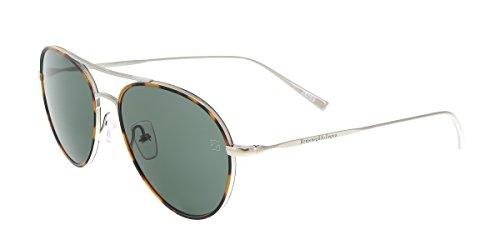 Ermenegildo Zegna Gafas de sol EZ0053 C54 14N (shiny light ruthenium/green)
