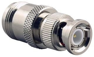 AMPHENOL 31-217 RF/COAXIAL ADAPTER, BNC PLUG-N JACK; CONNECTOR TYPE:INTER SERIES COAXIAL; ADAPTER BODY STYLE:STRAIGHT ADAPTER; CONVERT FROM COAX TYPE:BNC; CONVERT FROM GENDER:PLUG; CONVERT TO COAX TYP
