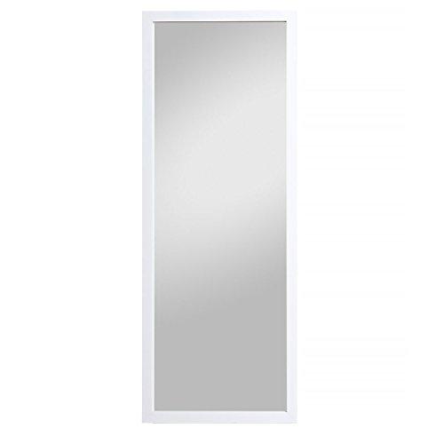 Spiegelprofi Spiegel, MDF, weiß Glanz, 166 x 66 cm