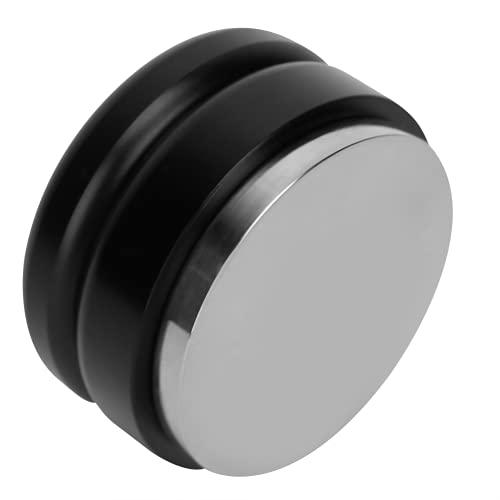 Strumento di compressione per distribuzione, superficie opaca in lega di acciaio inossidabile vernice 58 mm Comodo pressino per caffè Delicato e bello per caffè ed(Compattatore)