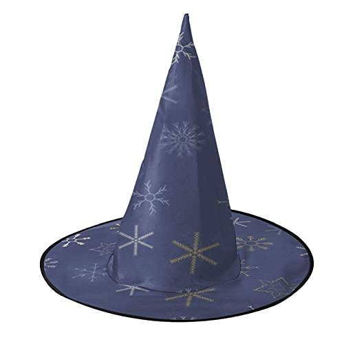 Copos de nieve Formas Feliz Navidad Seoras Bruja Sombrero Encaje Velo Novia Cadver Da de los Muertos