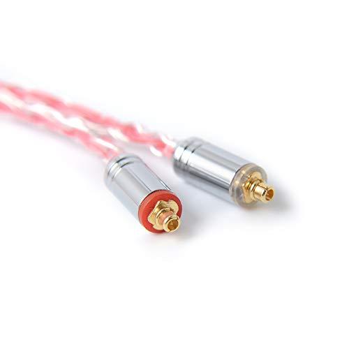 NICEHCKTYB2イヤホンケーブル16芯銀メッキ線と高純度銅線のミックスMMCX2.5mmプラグ金属製コネクタリケーブルアップグレードケーブル4極非常に柔らかい1.2mDIYイヤホンのアクセサリバランスリケーブル高級交換用ケーブルNICEHCKFR12FW6N3P3M6NK10HK8HK6EBXDT500DT300PROHC5EP35