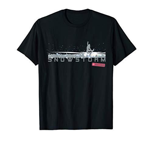Snowstorm Snowboard Winter Snow sport Gift For Men & Women T-Shirt