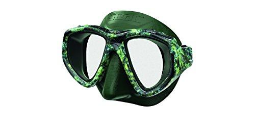 Seac One Pirana Masker Unisex Volwassen, Groen Camouflage