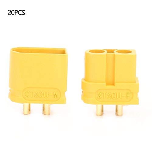 10 paar XT60U stekker/stopcontact, hoogstroom vergulde messing stekker converter adapter voor RC model Aircraft elektrische voertuigen