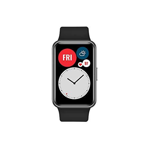 Huawei Watch Fit Nero + Auricolari AM61 Nero