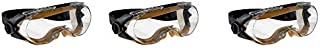 3M Maxim Safety Splash Goggle, 40671-00000-10 Over-the-Glass, Clear Anti-Fog Lens (Pack of 1) (3-(Pack))