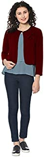 HRIKSHIKA FASHION Women's Polyester Blend Round Neck Sweater