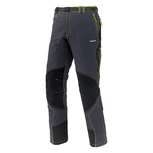 Trangoworld Vanced Ft Pantalon Long pour Homme XXL Anthracite/Vert