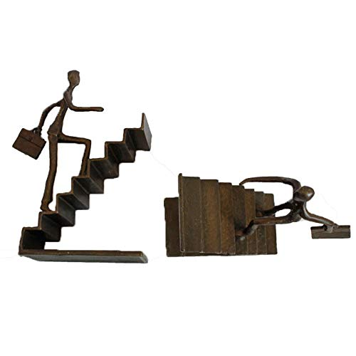 Buchstütze Treppe