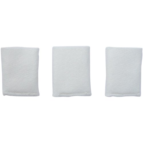 Optimus U-30002 Replacement Warm Mist Humidifier Absorption Sleeve for U32000, U-32010 ad U-32030, 3-Pack