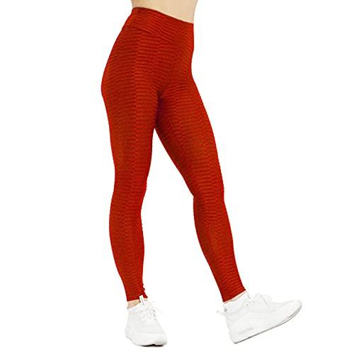 YSDSBM Pantalones de Yoga Push Up para Mujer, Mallas Deportivas de Jacquard sólido, Mallas de Gimnasio, Mallas elásticas para Correr, Mallas Deportivas para niña, Pantalones Deportivos