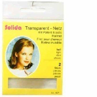 Transparent-Haarnetz hell