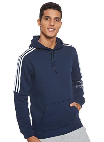 adidas Herren Outline Hoodie, Collegiate Navy, M