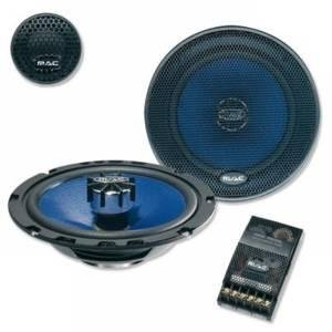 Mac audio Mac Mobil Exclusive 2.16 Compo 20 cm à 2 Voies pour Voiture 300 w (Noir/Bleu Lot de 2)