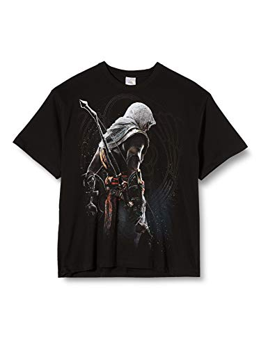 Assassins Creed Origins - Bayeka Unisex T-Shirt schwarz - Spielwaren - XL - Spiral