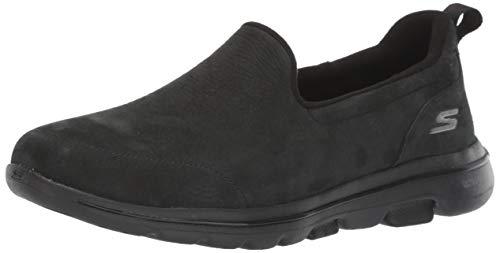 Skechers Women's GO Walk 5-15913 Shoe, Black, 8.5 M US