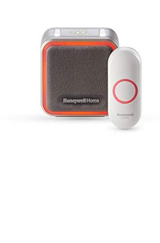 Honeywell Home RDWL515A2000 Doorbell Portable Wireless Doorbell & Push Button - 5 Series, WHITE