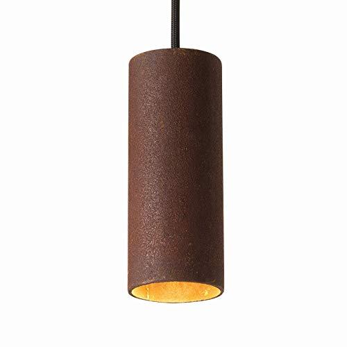 Roest hanglamp roest | handgemaakt in Nederland | hanglamp modern dimbaar | lamp GU10