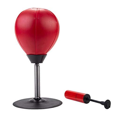 Engelhart - Sac de Frappe Anti-Stress Punching Ball de Bureau 17 cm x 34 cm - 704015