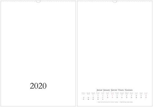 Bastelkalender & Fotokalender 2020 - DIN A2 - CO2 neutral in Deutschland gedruckt - weiß - Hochformat/hoch (30025)