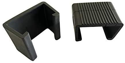Do4U 10 Stück Terrasse Rattan Möbel Sektionaltor Sofa Ausrichtung gurthalteband Clips Klemmen Stecker, M (2.13 inches)