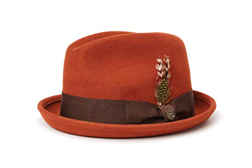 BRIXTON Gain Fedora Headwear, Piccante, M Unisex-Adulto