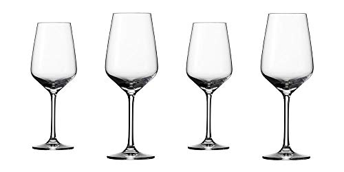 Villeroy & Boch Group - Voice Basic Set di bicchieri da vino bianco, 4 pezzi, 356 ml, bicchiere in cristallo, lavabile in lavastoviglie